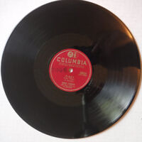 """SARAH VAUGHAN ON COLUMBIA 10 INCH 78 RPM RECORD - """"A MIRACLE HAPPENED""""/""""PINKY"""""""