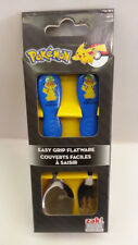 ZAK PIKACHIU POKEMON 2 PIECES  SPOON FORK SET 100% ORIGINAL LICENSED