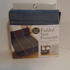 Eddie Bauer Baby Padded Auto Seat Protector Car Cover Gray Grey NIP NEW