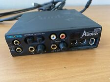 CREATIVE Sound Blaster Audigy SB0110 Midi SPDIF Optical IN/OUT External Remote