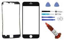 Black glass lens iphone 6S replacement LCD Digitizer Screen Repair UV LOCA Glue
