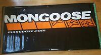 Vintage Mongoose Bicycles Bike Store Dealer Vinyl Sign 3'x6'