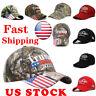 Donald Trump 2020 Cap USA Flag Camouflage Baseball Cap Hat Keep Make Great USA