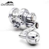CAMEKOON All Metal Trolling Reel Saltwater Lever Drag Reel Sea Boat Fishing Reel