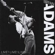 "BRYAN ADAMS ""LIVE LIVE LIVE"" CD NEW+"