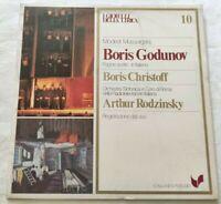 BORIS GODUNOV MODEST MUSSORGSKIJ LP CHRISTOFF RODZINSKY VINYL ITALY 1980 NM/NM