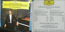 IVO POGORELICH - J.S. BACH Sonate a 2 e 3 voci Deutche gramophon 1986 west germa