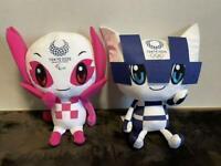 Someity + Miraitowa Tokyo 2020 Official License Olympic Mascot Plush 2 Set