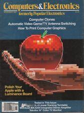 Computers & Electronics November 1982 Apple  092118AME2
