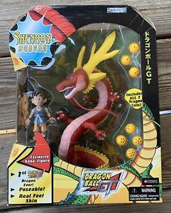 NIB Dragon Ball GT Shenron & Goku Figures *1st Dragon Ever* Jakks Pacific 2004