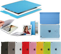 New Smart Stand Magnetic Leather Case Cover Sleep / Wake For Apple iPad 4 3 2