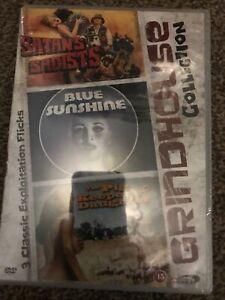 Grindhouse Triple Satans Sadists/blue Sunshine/ Pig Keepers Daughter Oop