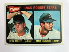 1965 Topps #477 Steve Carlton Rookie Card RC