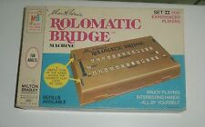 1969 Rolomatic Bridge Machine, Set II for Experienced Players ~ MB Chas. H Goren
