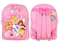 Disney Princesa 3 PRINCESAS NIÑA ROSA Mochila Belle Cenicienta Belleza