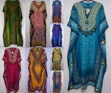 Womens African Caftan Dress Dashiki Hippie Boho Kaftan Maxican Casual coverup