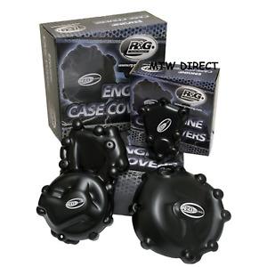 Triumph speed triple 2008-2012 R&G RACING engine case cover kit KEC0025BK