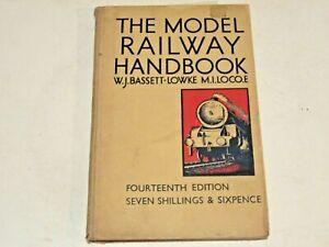 THE MODEL RAILWAY HANDBOOK - W J Bassett-Lowke 1948