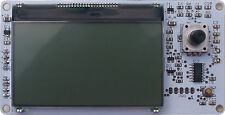 Bv4212: 126x64 LCD, Rotary input, I2C Interface, Arduino, bypic, Raspberry PI