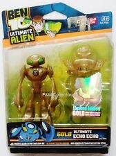 """BEN 10 BEN10 ULTIMATE GOLD ECHO ECHO 4"""" ACTION FIGURE LIMITED EDITION NEW"""