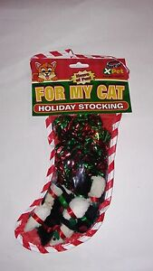 Vo-Toys Votoy XPet cat toy catnip Holiday stocking Christmas Mylar Ball fur mice