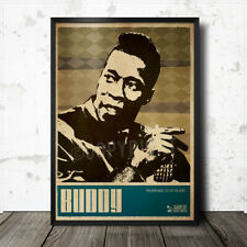 Buddy Guy Blues Art Poster Howlin' Wolf Lead Belly Muddy Waters