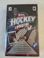 1990-91 NHL Upper Deck Low Numbers 1st series Hockey factory seal Box Foil Packs