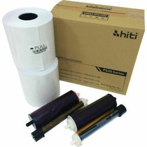 Hiti P520 4x6 Ribbon & Paper Case suit P520L /P525L Printers 1000 Prints 6x4