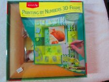 Reeves Painting By Numbers 3D Frame PPCNPS New Baby