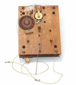 Eli & Samuel Terry for Pillar and Scroll Wood Works Clock Movement - RC116