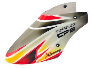 XCanopy Airbrush Fiberglass Gourmet Canopy - BLADE NANO CPX/CPS/S2