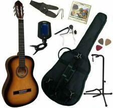 MSA 4/4 Guitare avec Accessoires - Marron