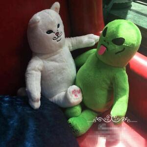 New green alien Lil Mayo toy plush doll Ripndip Rip In dip Lord Nermal Pocket Ca