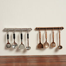 5PCS/SET 1/12 Dollhouse Cooking Hanging Utensils Tool For Dollhouse ToysKitchen