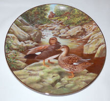 1988 Knowles THE GADWALL Jerner's DUCK  Plate # 7 Living With Nature w/COA