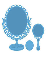 "Marianne Design Creatables Dies ~ Vintage Mirror LR0321, Up To 5.3/4"" ~ NIP"
