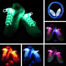 5 Pairs Boys Girls LED Light Up Shoe Shoelaces Shoestring Flash Glow Stick Party