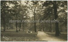 Sheffield, In Roe Woods, Pitsmoor 1912 Sneath Real Photo Postcard, C019