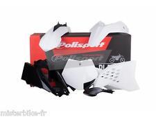 Kit plastiques Coque Polisport  KTM SX65  Année 2012 -> 2015  Couleur Blanc