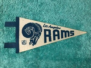 1960's LOS ANGELES RAMS MINI PENNANT