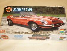 Airfix un made plastic kit of a Jaguar E Type / XKE Roadster,  Boxed