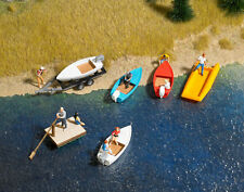 Busch 1157 NEW 6 SMALL BOAT SET