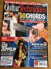 Guitar Techniques magazine & CD: January 2010