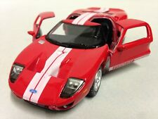"2006 Ford GT, 5"" Die Cast 1:36 Scale Pull Back action Kinsmart Toy Red"