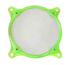 92mm Washable Stainless Steel Fan Filter, UV Green