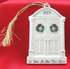 Lenox Christmas Tree Ornament 1st Year in Our New Home 2000