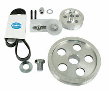 Air-Cooled VW High Performance Serpentine Belt Pulley Kit, Polished