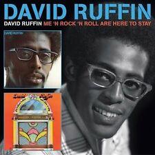 David Ruffin: S/T/Me 'N Rock 'N Roll Are Here to Stay. CD R&B Soul Temptations