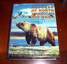 BOONE & CROCKETT Trophy Hunter Hunting Big Game Hunt Records Gun Big-Game Book