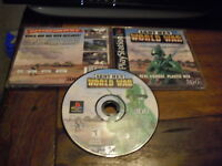 Army Men World War - PS1  Complete Playstation Game
